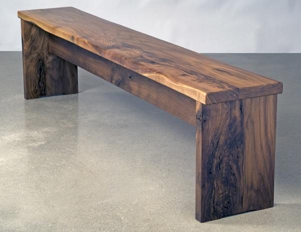 Dining Bench Eben Blaney Fine Contemporary Furniture