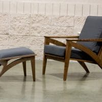 Wise Lounge Chair and Ottoman