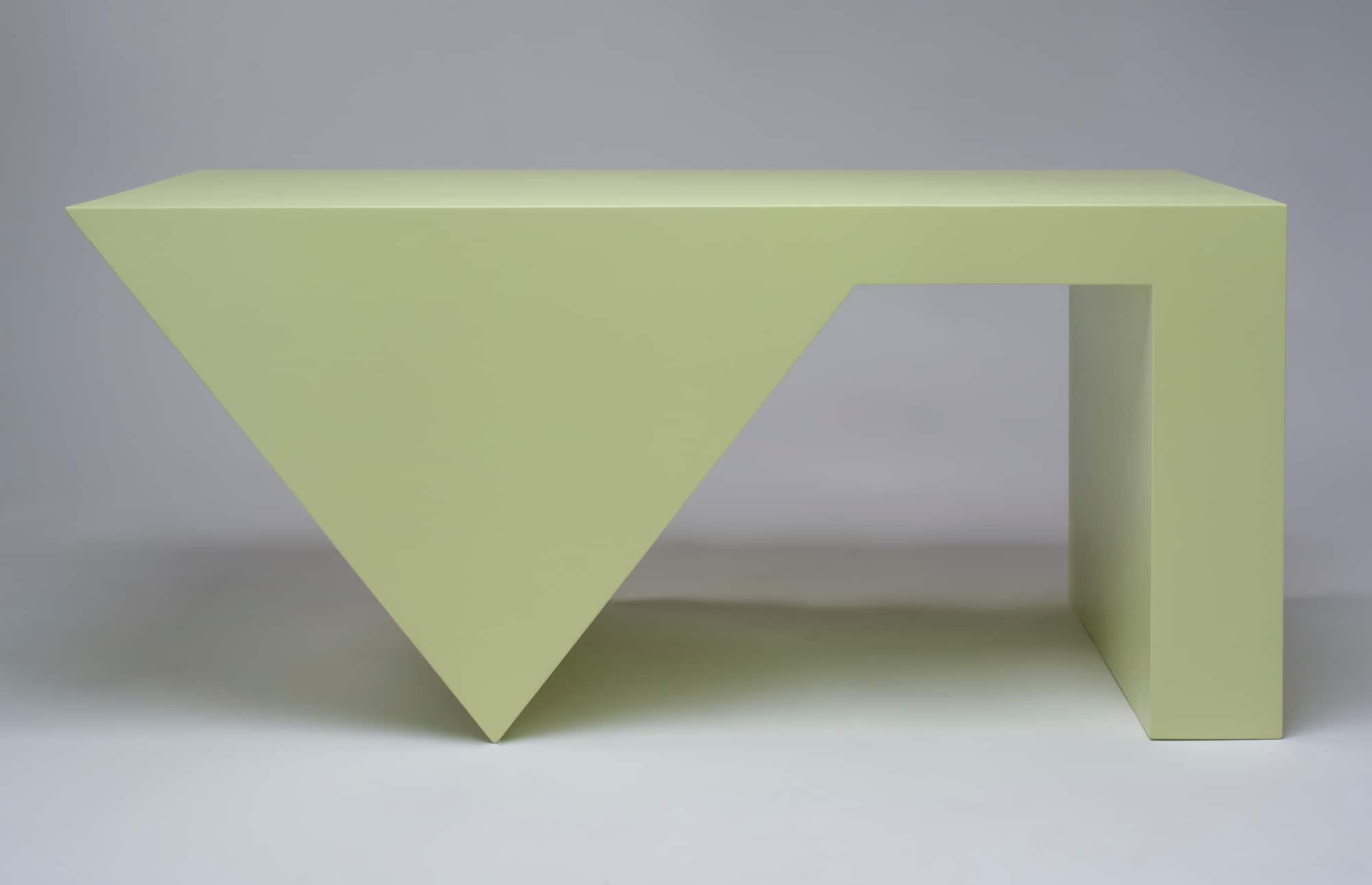Sawtooth coffee table