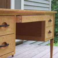 Boothbay Desk detail
